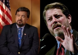 Bill Richardson and Al Gore Grow Facial Hair